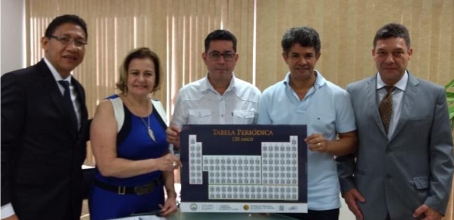 Em homenagem ao Dia Nacional do Químico, celebrado neste 18 de junho, a Diretoria do Conselho Regional de Química da 20ª Região, foi recebida pela Secretária de Estado de Educação do Mato Grosso do Sul.