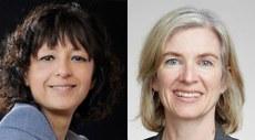 Emmanuelle Charpentier e Jennifer A. Doudna, vencedoras do Nobel de Química de 2020