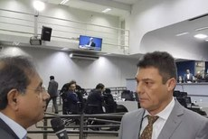 Presidente Conselho Regional de Química da 20ª Região, Luiz Miguel Skrobot, em entrevista na Câmara Municipal.